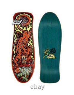 Santa Cruz Salba Tiger Skateboard Deck 2021 Old School Vintage Reissue New
