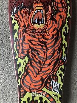 Santa Cruz Salba Tiger Skateboard Deck Powell Peralta Sims Alva Natas McGill