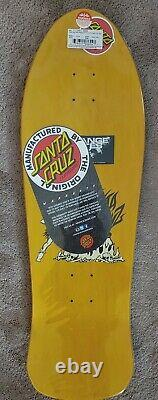 Santa Cruz Salba Yellow Reissue Deck New in Shrink