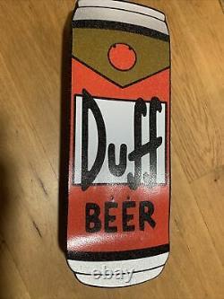 Santa Cruz Simpsons Homer Duff Beer Can Skateboard Cruiser RARE