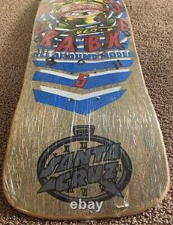 Santa Cruz Skateboard Claus Grabke 80s Brand New In Shrinkwrap