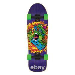 Santa Cruz Skateboard Complete Toxic Hand 80's Old School Shape 9.7 x 31.7