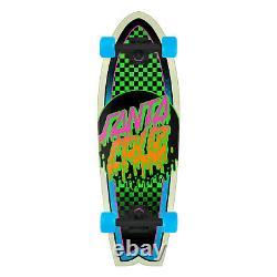 Santa Cruz Skateboard Cruiser Complete Rad Dot Shark Blue 8.8 x 27.7