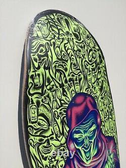Santa Cruz Skateboard Reissue Old School Cruiser Knox Firepit Glow Rare New