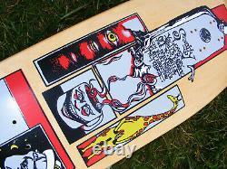 Santa Cruz Skateboards SMA Old School Deck Jim Thiebaud 1990 ORIGINAL