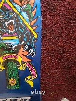 Santa Cruz Sma Natas Kaupas Panther 3 Reissue Skateboard Deck New In Shrink