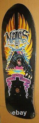Santa Cruz Sma Natas Kaupas Panther Edmiston Reissue Skateboard Deck Rare