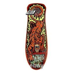 Santa Cruz Steve Alba SALBA TIGER Skateboard Deck RED STAIN