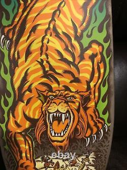 Santa Cruz Steve Alba Salba Tiger Reissue Skateboard Deck