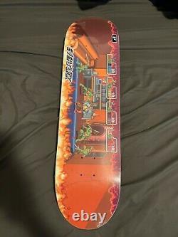 Santa Cruz TMNT Arcade Everslick Skateboard Deck Teenage Mutant Ninja Turtle 8.5