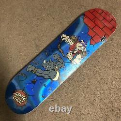 Santa Cruz TMNT Teenage Mutant Ninja Turtles Skateboard Deck Bebop & Rocksteady
