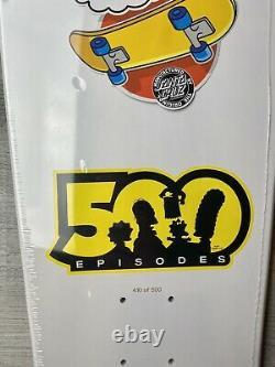 Santa Cruz The Simpsons Slasher Bart Skateboard Deck 410 Of 500