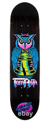 Santa Cruz Tom Asta Night Owl Skateboard Deck 8.0