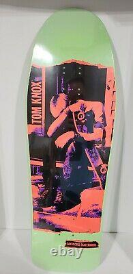 Santa Cruz Tom Knox Discord Punk Reissue Skateboard Deck Minor Threat 10x31 New
