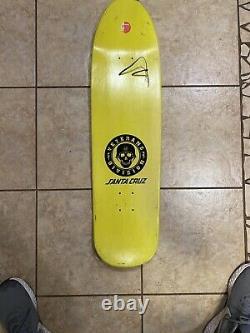 Santa Cruz Tom Knox Rare Veterans Division Skateboard! Collectable