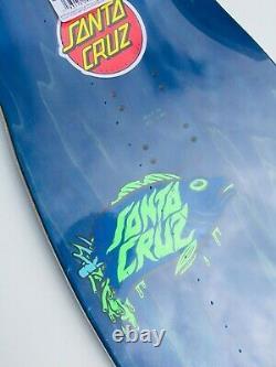Santa Cruz Winkowski Aquatic Night Shaped Skateboard Deck Glow In The Dark