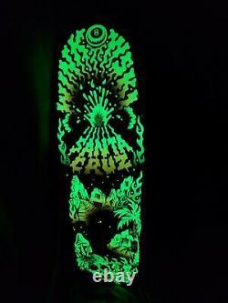 Santa Cruz Winkowski Volcano 10 Skateboard Deck New In Shrink Rare Glow in Dark