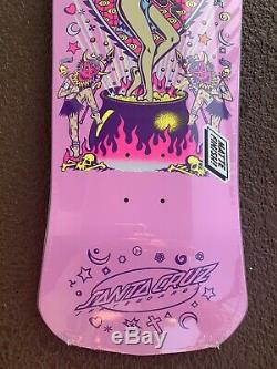 Santa Cruz skateboard Salba Witch Doctor Re-Issue Deck Pink rare nos limited