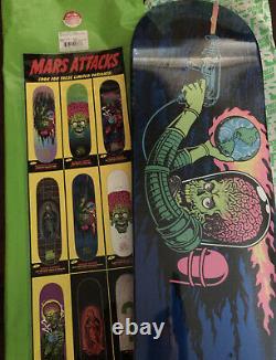 Santa Cruz vs Mars Attacks #5 Mystery Board Sparkle Reaper