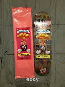 Santa Cruz x Garbage Pail Kids Gang Nostalgia Overload Skateboard Deck GPK SICK