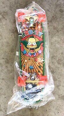 Santa Cruz x Simpsons Krusty Cruiser Skateboard Complete