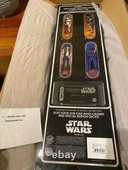 Santa Cruz x Star Wars RARE Collector's Edition Darth Vader Skateboard Deck NEW