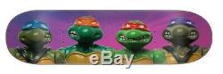 Santa Cruz x TMNT Teenage Mutant Ninja Turtles Figures Everslick Skateboard Deck