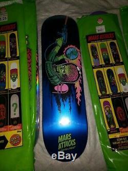 Santa cruz mars attacks almost full collection missing maid of mars