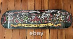 Santa cruz skateboard emmanuel guzman dining with the dead deck rare primitive