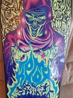 Sants Cruz Tom Knox Firepitt Glow in the dark Reissue Skateboard Deck New