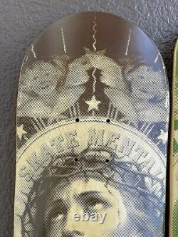 Skate mental skateboard oh my lord & merry mary deck rare santa cruz primitive
