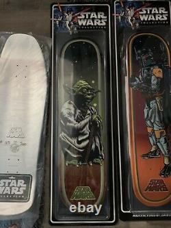Star Wars Santa Cruz Collectible Skateboard Deck Yoda ONLY RARE 100% Authentic