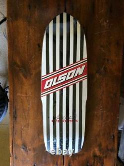 Steve Olson Black Label Skateboard Powell Thrasher Vision Santa Cruz Dogtown