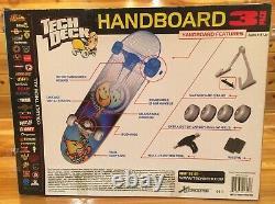 Tech Deck Handboard 3 Pack Tony Hawk Birdhouse Brigade Santa Cruz NEW Skateboard