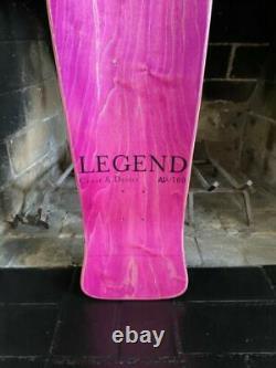 Vintage Alice In Wonderland Jeff Grosso C&D Skateboard Santa Cruz Deck