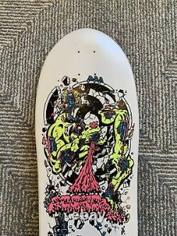 Vintage Nos Rare Santa Cruz Roskopp 4 Skateboard Salba Jesse Vallely Hawk Print